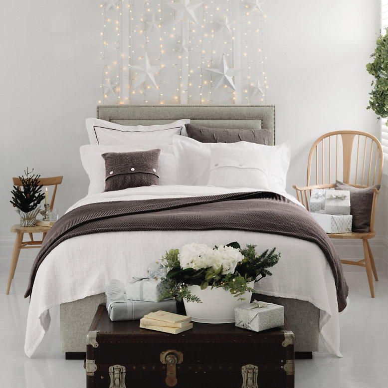 at number 18: The white company festive bedroom competition