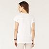 Yoke Detail Jersey T-Shirt - White