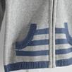 Jersey Hood Cardigan