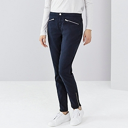 Zip Detail Symons Skinny Jeans