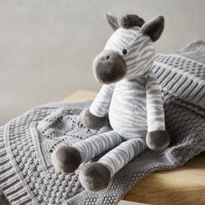 Zaza Zebra Toy - The White Company