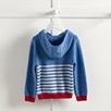 Stripe Zip Through Hoodie (2-5yrs)