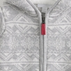 Fairisle Zip Through Hoodie