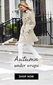 Autumn under wraps - shop now