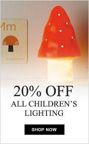 Up to 20% off children's lighting