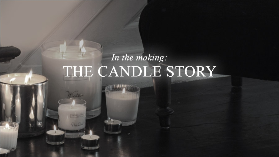 In the making: the candle story