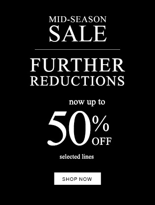 Mid-Season Sale Up to 50% OFF Selected Lines + Free  UK Delivery On Order Over £50 @ TheWhiteCompany.com