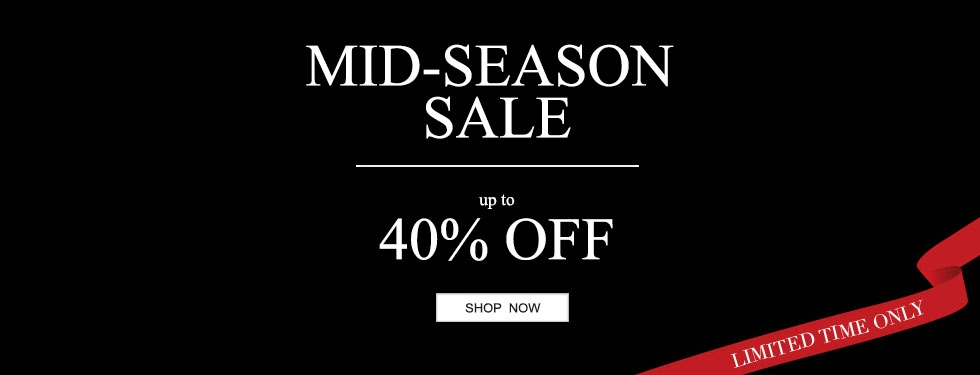 Mid-season sale up to 40% off selected lines plus free UK delivery on orders over £50 at TheWhiteCompany.com