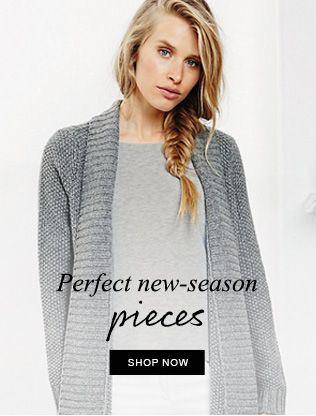 Perfect new-season pieces