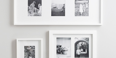 fine wood frame collection - White Wood Frame