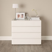 Buy Carlton Glass 4 Drawer Chest of Drawers from The White Company
