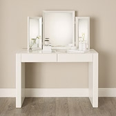 Buy Carlton Glass Dressing Table from The White Company