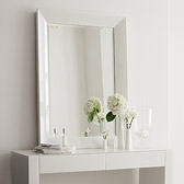 Buy Carlton Glass Framed Wall Mirror from The White Company