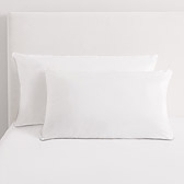 Buy Silk/Polyester Pillows from The White Company