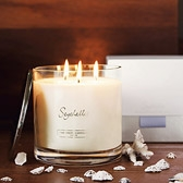 Buy Seychelles Large 3-Wick Candle from The White Company