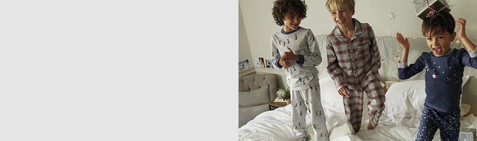 Boys\' Nightwear | Pyjamas & Dressing Gowns | The White Company