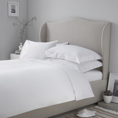 200 Thread Count Egyptian Cotton Oxford Pillowcase with Border - Set of 2