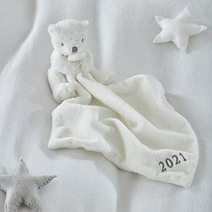 2021 Dated Bear Comforter