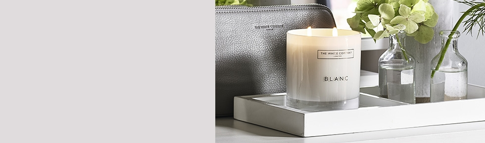 Candles scented pillar votive the white company uk for Aroma candle and scent company
