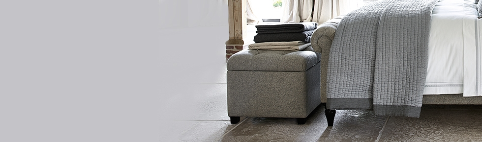 Ottomans Furniture The White Company Uk