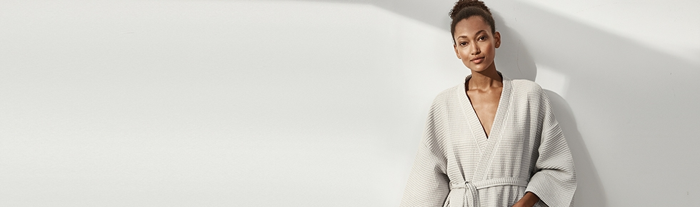 Robes and Dressing Gowns | Cotton & Cashmere | The White Company UK