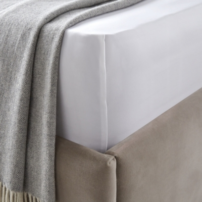 800 Thread Count Sateen Fitted Sheet