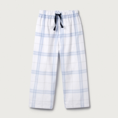 Anchor Check Pyjama Bottoms (1-12yrs)