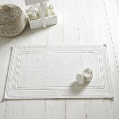 Antibes Bath Mat - White