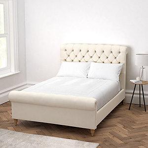 Aldwych Cotton Scroll Bed
