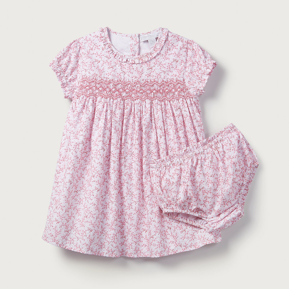 8060e50c6 Amelia Floral Smock Dress | Baby Clothing Sale | The White Company US