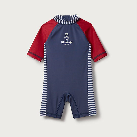 9bf2f011ab Anchor Surfsuit | Baby Boys' | The White Company UK