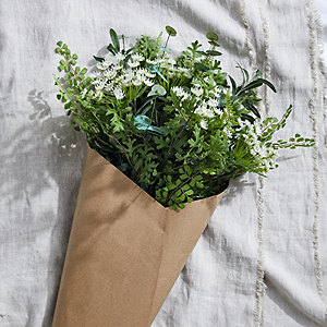 Artificial Large Country Garden Hand-Tied Bunch