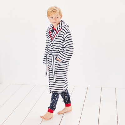 Breton Stripe Robe (1-12yrs)