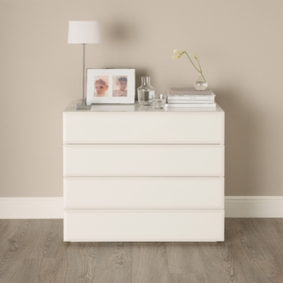 Carlton Glass Chest of Drawers