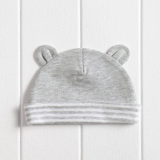 9bfe00334cb8 Unisex Bear Ears Baby Hat