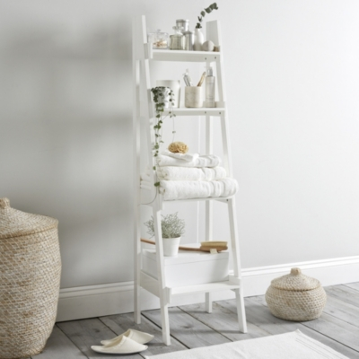 Bathroom Lacquer Ladder Shelf Furniture In Time For Christmas The White Company Uk