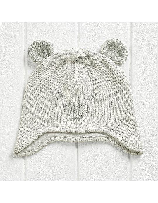 1d559e7a3 Bear Face Knitted Hat