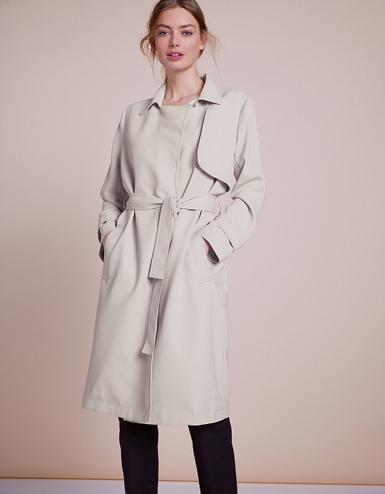 0984a4ad0620 Belted Trench Coat | Jackets & Coats | The White Company US