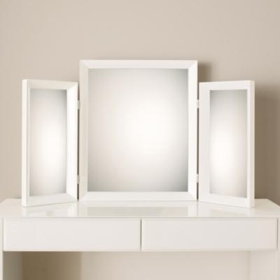 Carlton Glass Framed Dressing Table Mirror