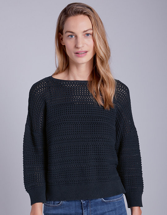 88a25fb1fa54e1 Cotton-Wool Cross Stitch Sweater