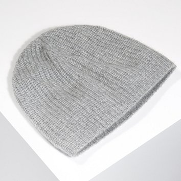 8ad8f873c07 Cashmere Rib Beanie Hat