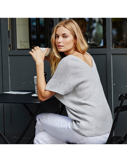 8b4c8a97985 Added to bag. Checkout. Continue shopping. Back  The White Company ·  Clothing · Sweaters   Cardigans  Cashmere Ribbed V ...