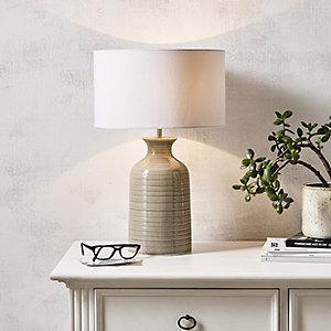 Ceramic Mini Bottle Table Lamp