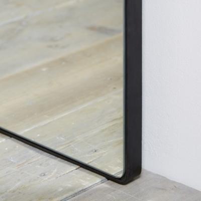 Chiltern Thin Metal Full Length Mirror, Full Length Mirror Black Metal Frame