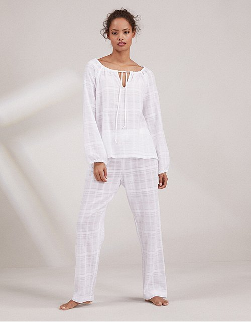 a51be6919dff Cotton Gauze Boho Pyjama Set