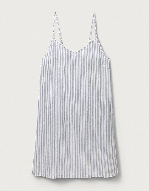 2af8ef81dd3a6 Cotton Stripe Nightdress