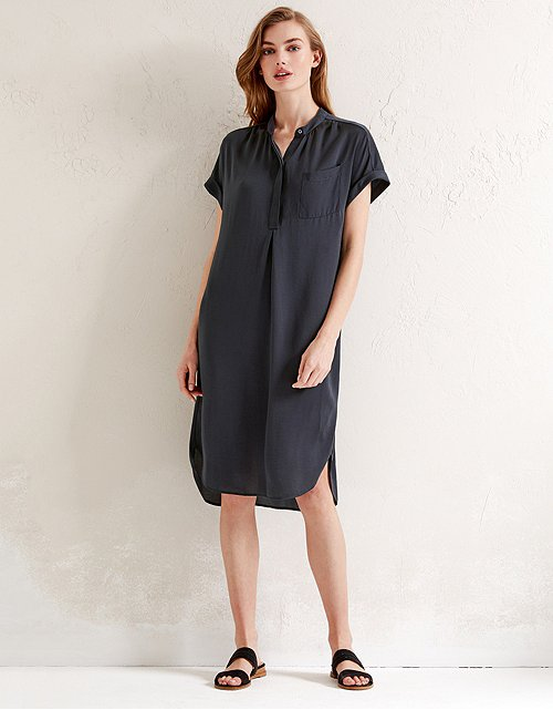 Washed Satin Dress 4791ccf8f