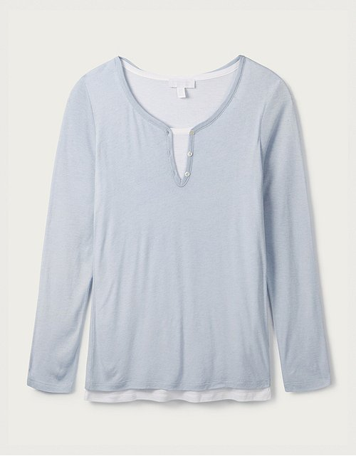 8d69d905df Tops & T-Shirts | Cotton, Linen & Silk | The White Company UK