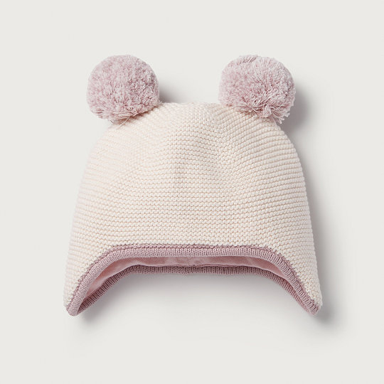 2bfe159f53837c Double Pom-Pom Hat | View All Baby | The White Company US