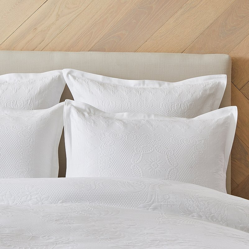 Etienne Oxford Pillowcase With Border Single